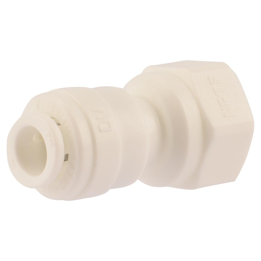 SharkBite 1/4 in. O.D. Quick Connect x 1/4 in. FIP Adapter-25410