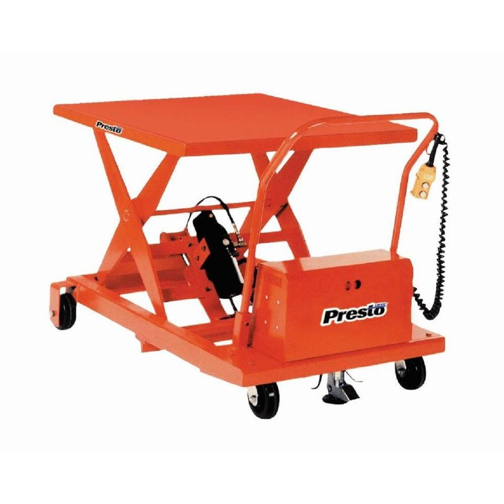 Presto Lifts 1000 lb. Battery Operated Lift-XBP24-10 - The Home Depot