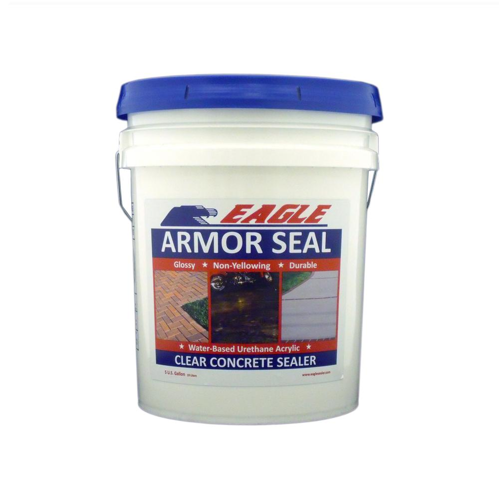 5 gal. Armor Seal Urethane Modified Acrylic Glossy Durable Water-Based Clear