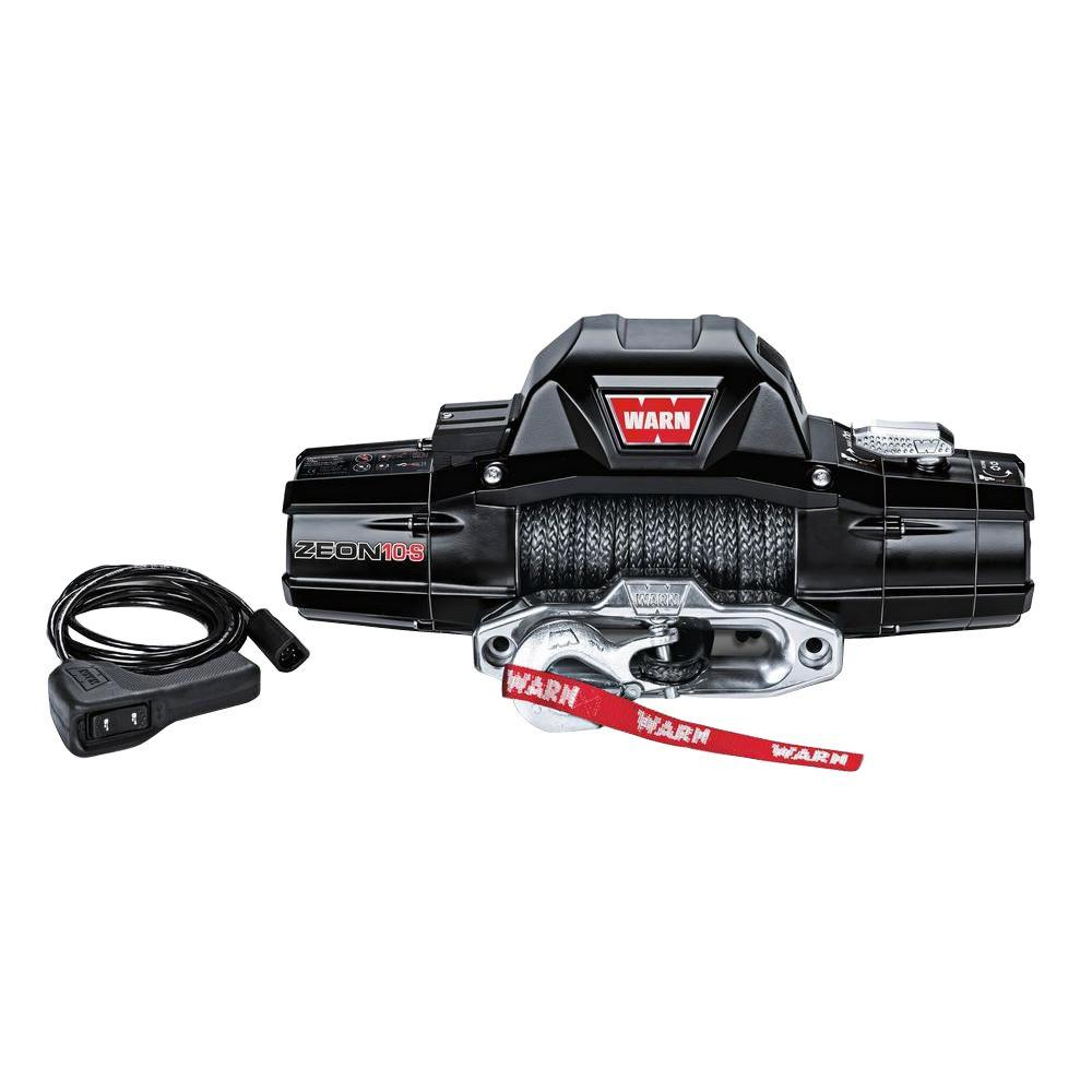 Warn ZEON 10-S Winch-89611 - The Home Depot