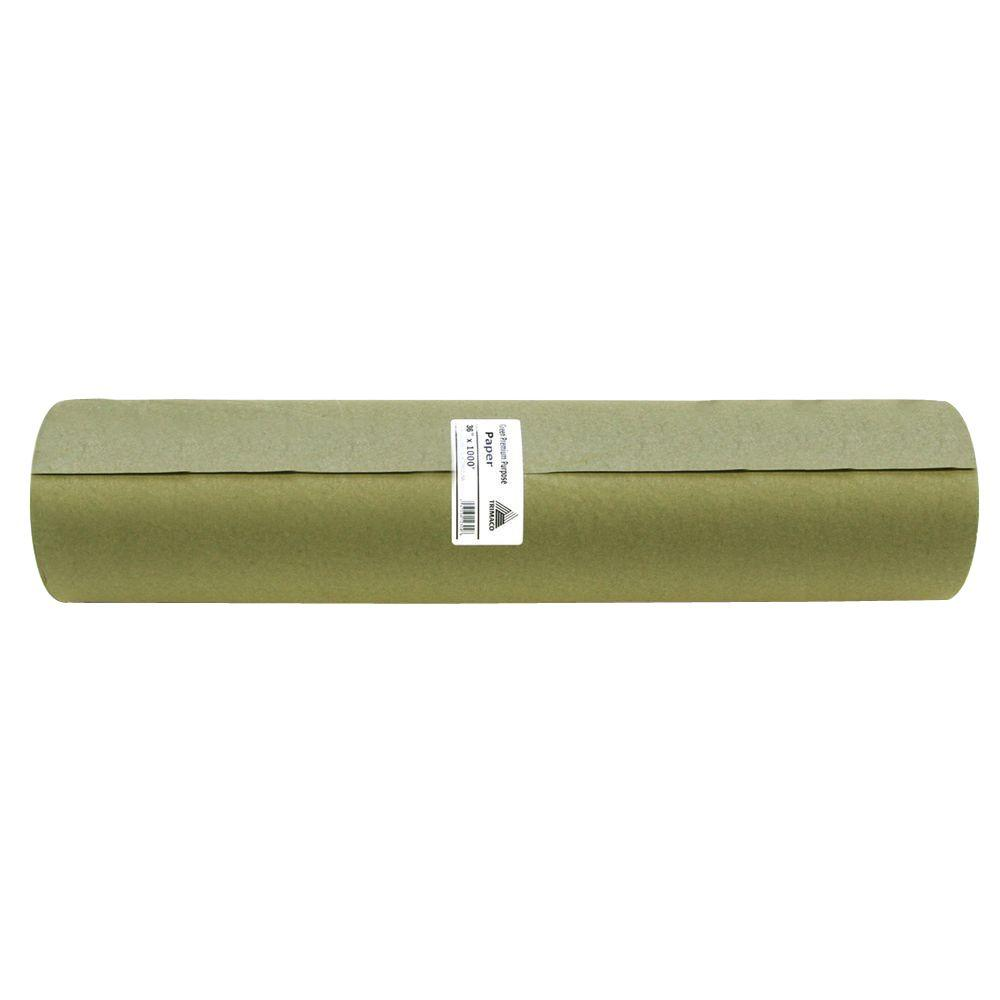 30 in. x 1000 ft. Green Masking Paper