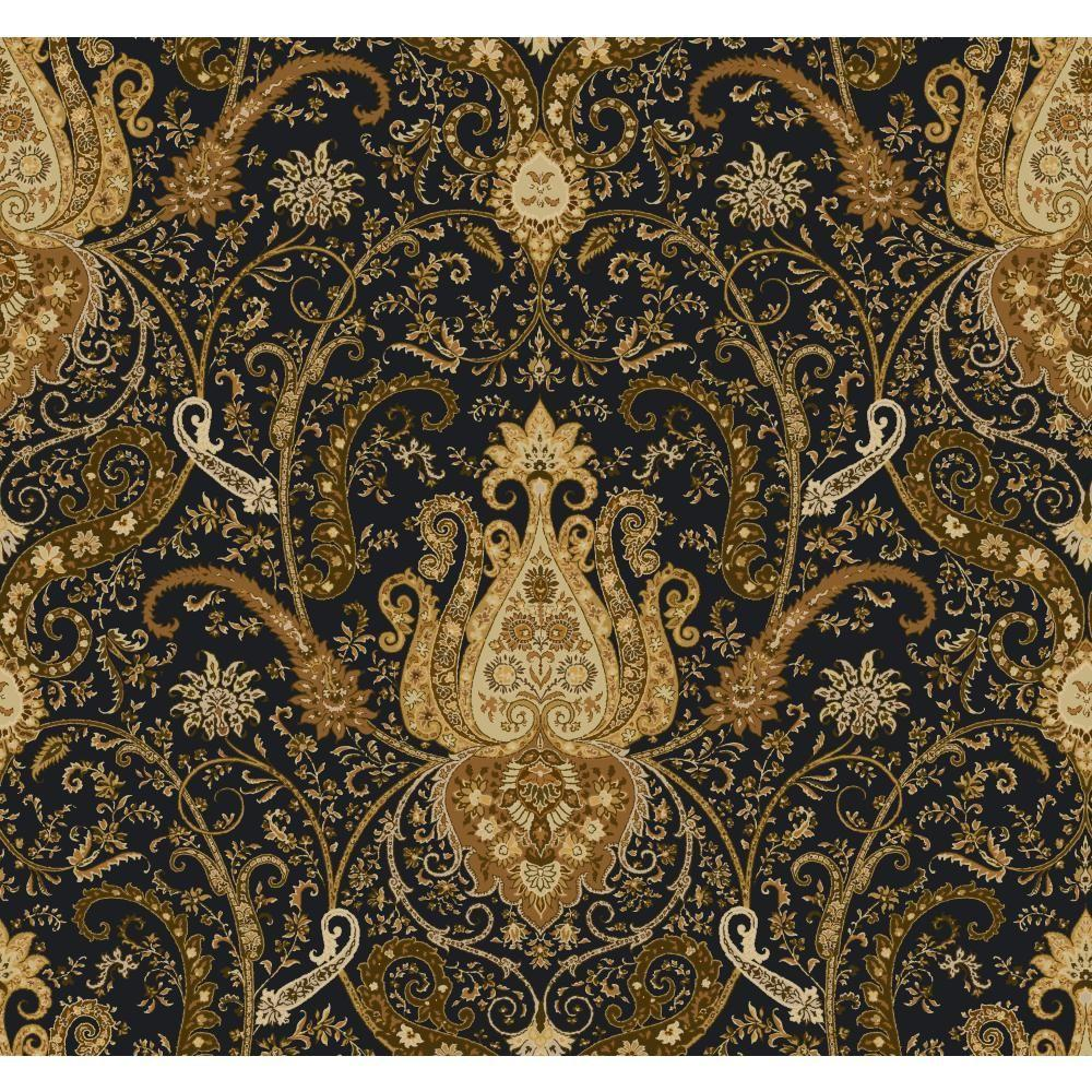 York Wallcoverings 60.75 sq. ft. Waverly Classics Byzance Wallpaper-WA7718 - The