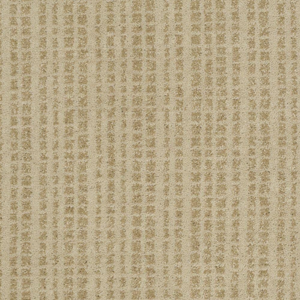 Martha Stewart Living Buckley Ridge - Color Nutshell 6 in. x 9 in. Take Home Carpet Sample-DISCONTINUED