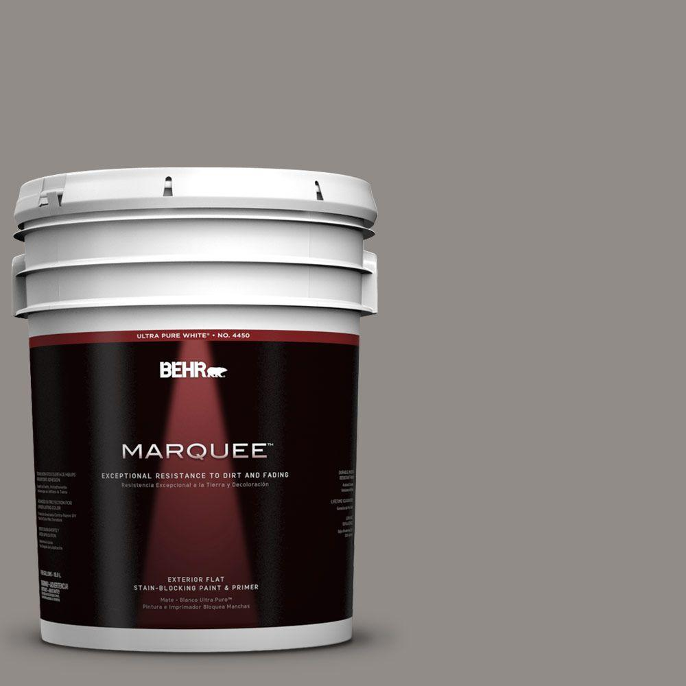 BEHR MARQUEE 5-gal. #790F-4 Creek Bend Flat Exterior Paint