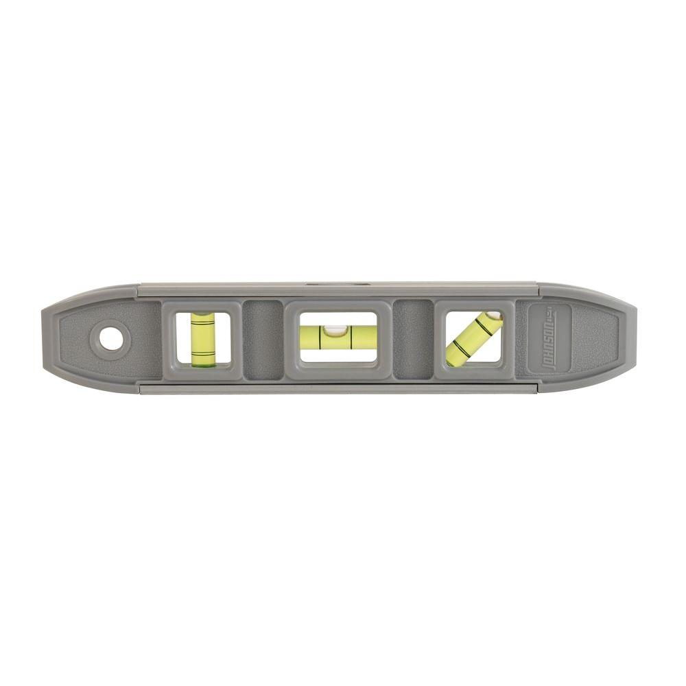 Johnson 9 in. Magnetic Torpedo Level
