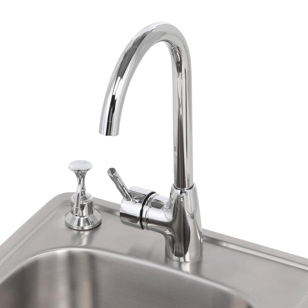 Sunstone 17 In 304 Stainless Steel Single Sink With Cold