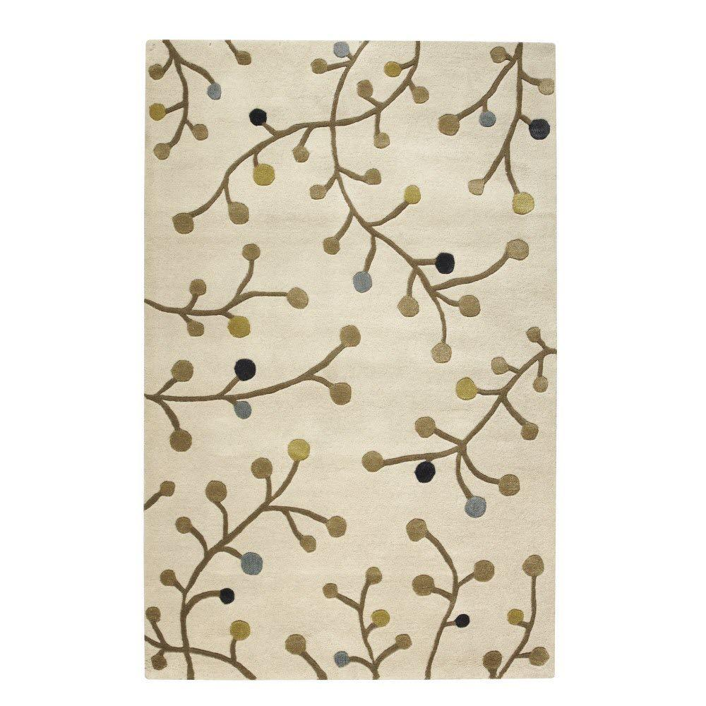 Home Decorators Collection Network Ivory 3 ft. 6 in. x 5 ft. 6 in. Area Rug