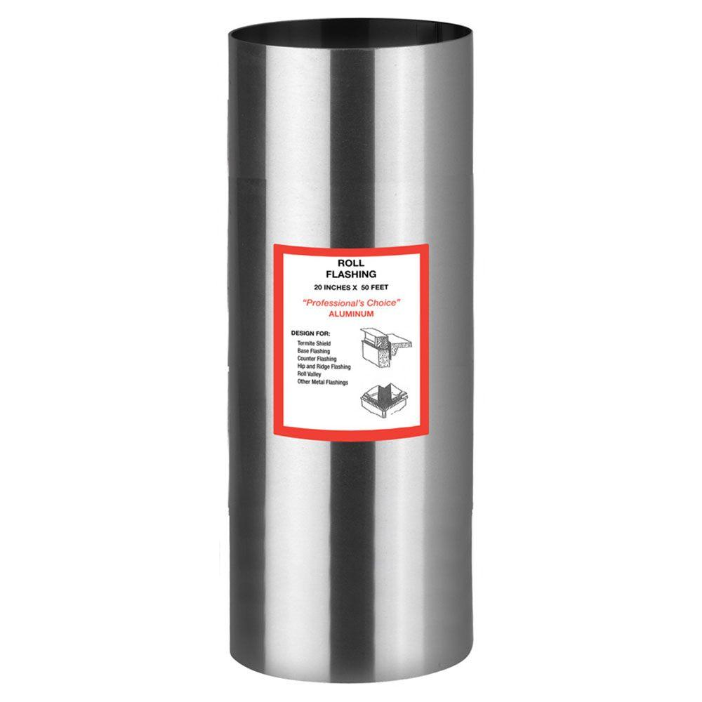 Gibraltar Building Products 20 in. x 50 ft. Aluminum Roll Flashing-RV2050A