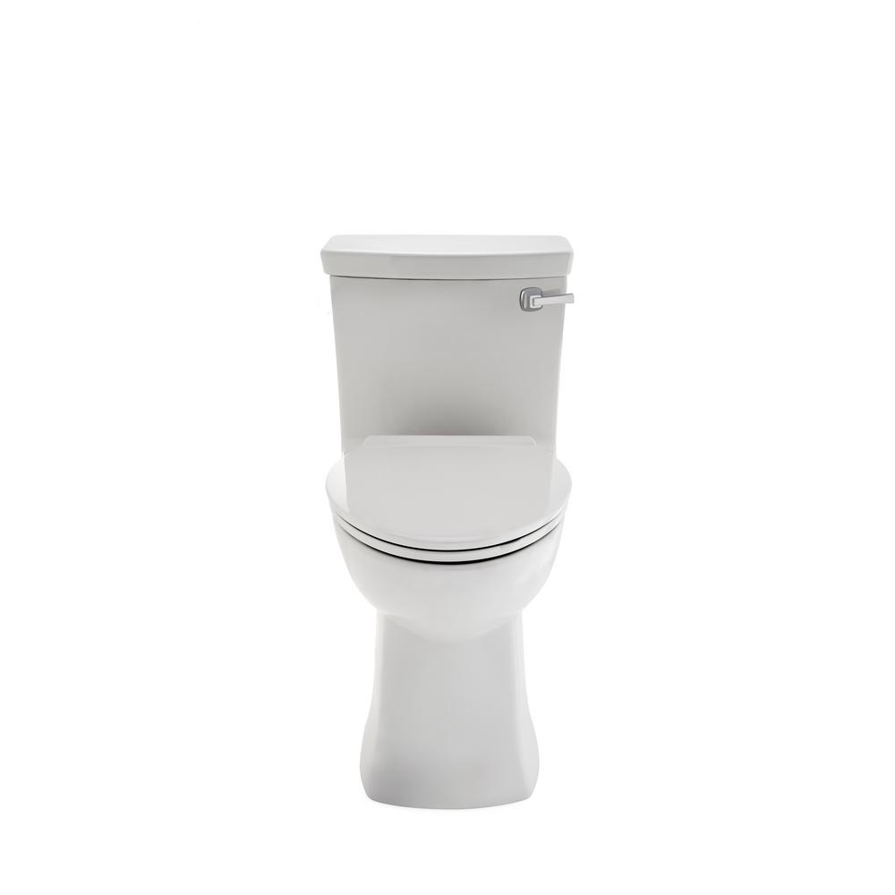 Townsend Vormax 1-piece 1.28/1.6 GPF Single Flush Elongated Toilet in White