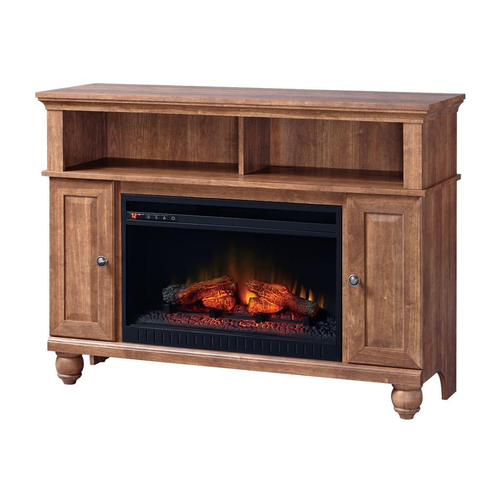 Home Decorators Collection Fire Places Wood Stoves Hardware Ashurst 46 In Media Console