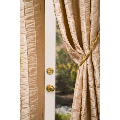 Home Decorators Collection Semi-Opaque Off White Meadowbrook Rod Pocket Panel - in. W x 96 in. L