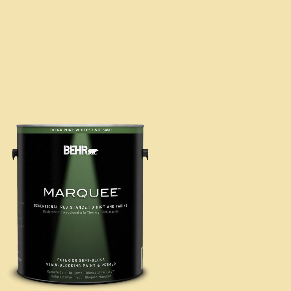 BEHR MARQUEE 1-gal. #390C-3 Windsong Semi-Gloss Enamel Exterior Paint