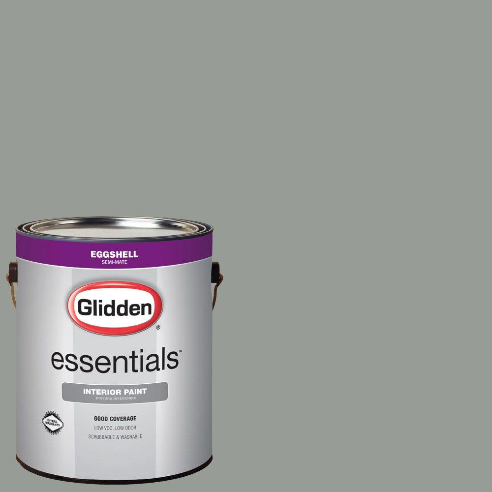 1 gal. #HDGCN12 Greycliffe Eggshell Interior Paint