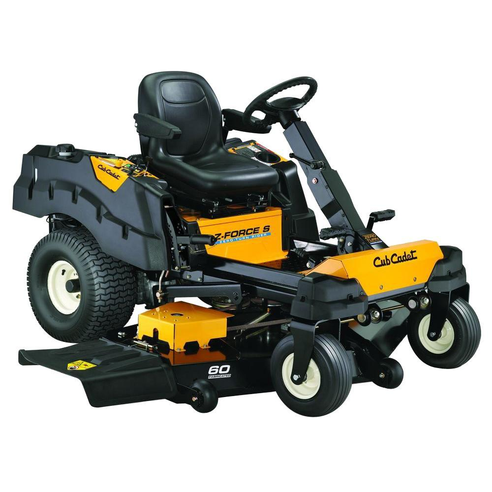 Cub Cadet Z-Force S 60 in. 25 HP Fabricated Deck Kohler P...