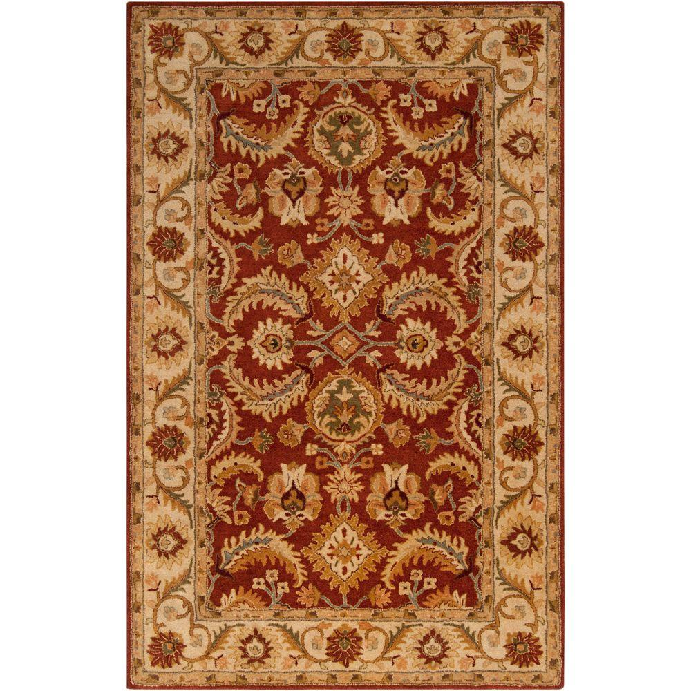 Aelia Burgundy (Red) 8 ft. x 11 ft. Indoor Area Rug