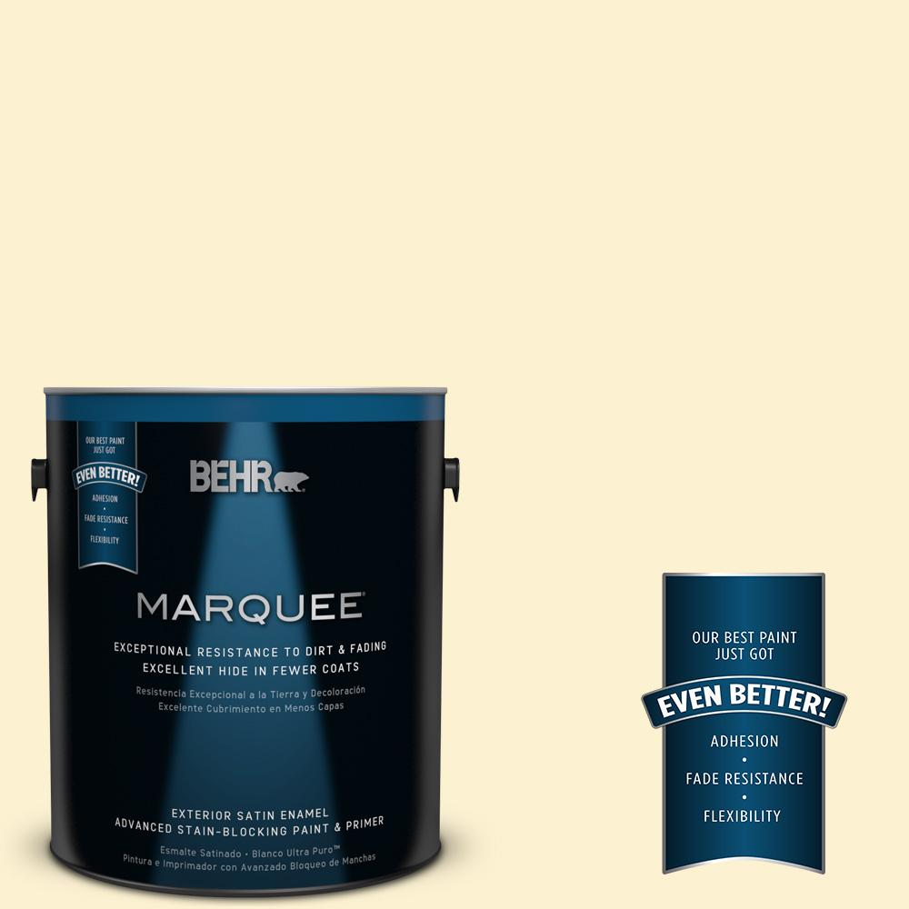BEHR MARQUEE 1-gal. #P280-1 Summer Bliss Satin Enamel Exterior Paint-945001 -