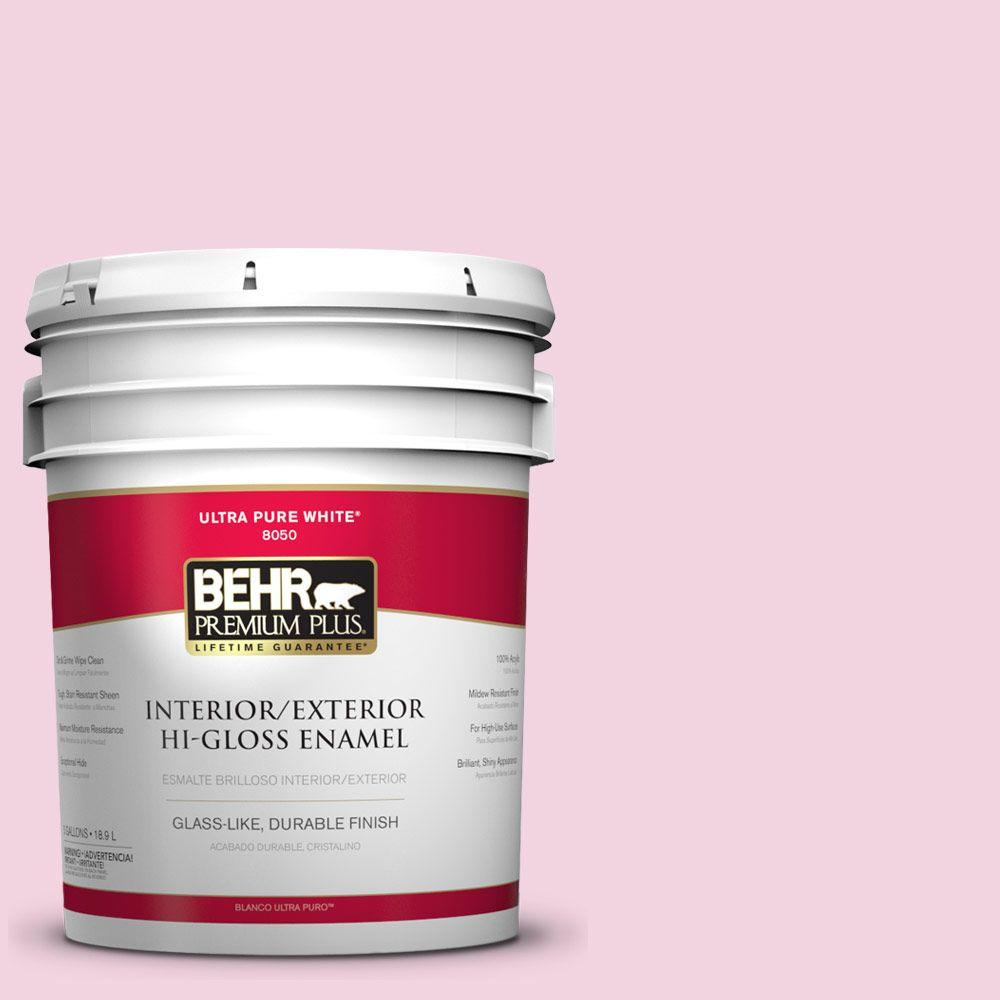 5-gal. #100A-3 Scented Valentine Hi-Gloss Enamel Interior/Exterior Paint