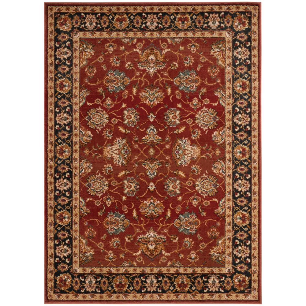 Summit Red/Dark Gray 8 ft. x 10 ft. Area Rug