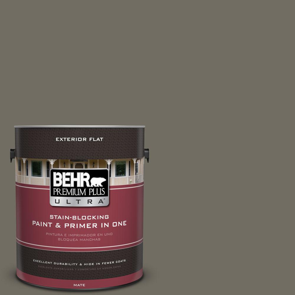 1-gal. #790D-6 Dusty Mountain Flat Exterior Paint