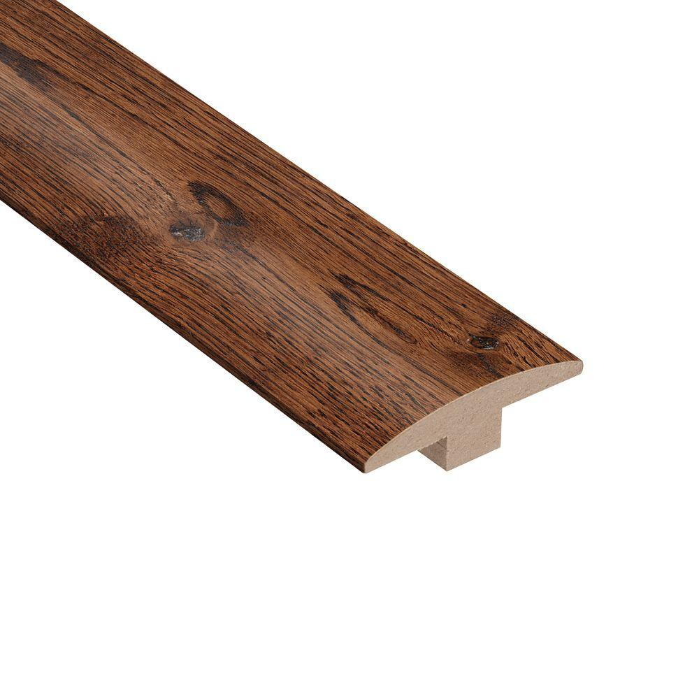 Home Legend Wire Brushed Gunstock Oak 3/8 in. Thick x 2