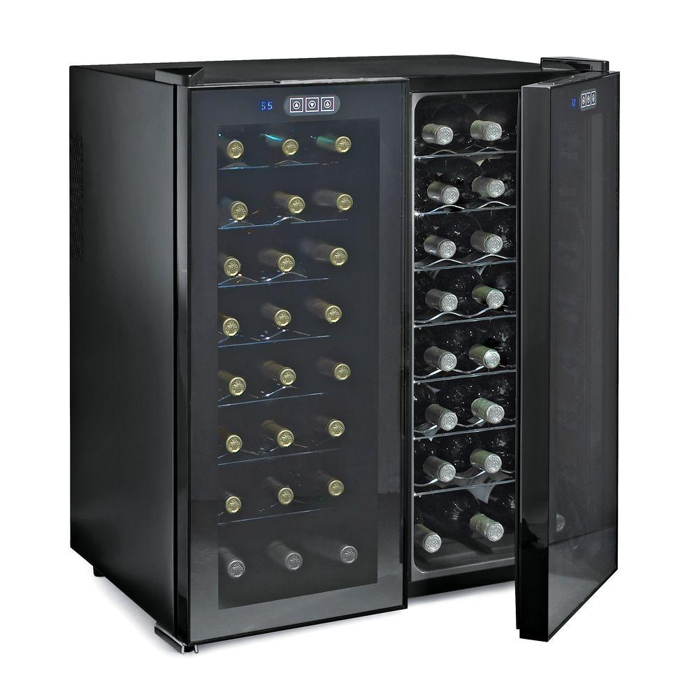 Wine Enthusiast 48-Bottle Touchscreen Dual Zone Wine Cooler