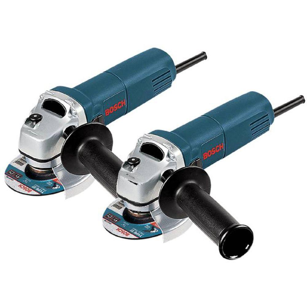 Bosch 6 Amp Corded 4-1/2 in. Angle Grinder with Lock-On Switch