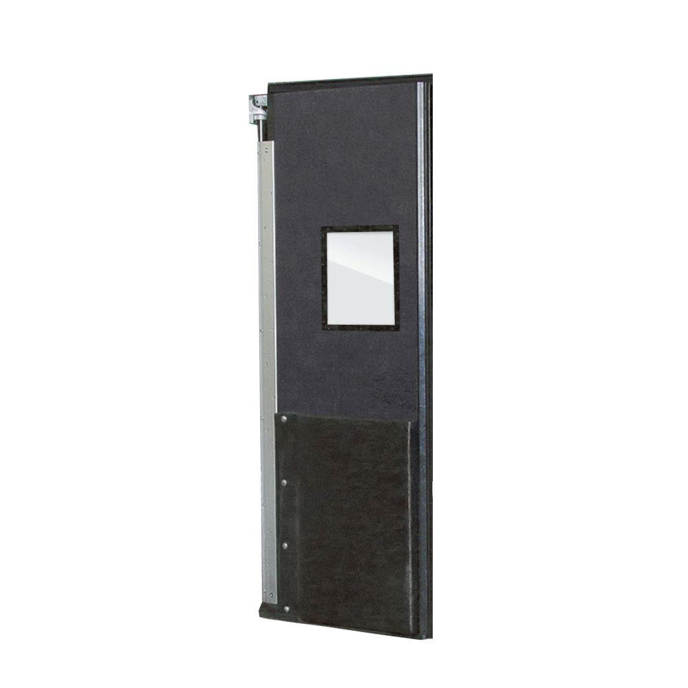 Aleco ImpacDor FD-175 1-3/4 in. x 48 in. x 96 in. Charcoal Gray Impact Door