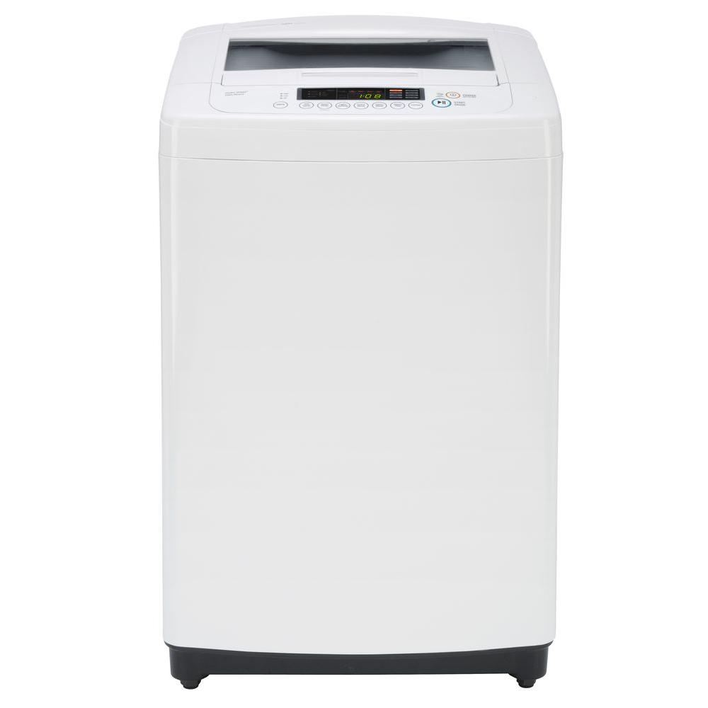 3.3 cu. ft. Top Load Washer in White