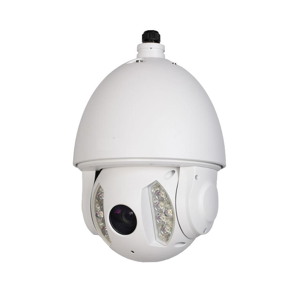 Wired 2-Megapixel 20x Full HD Network IR PTZ Indoor/Outdoor Dome Camera