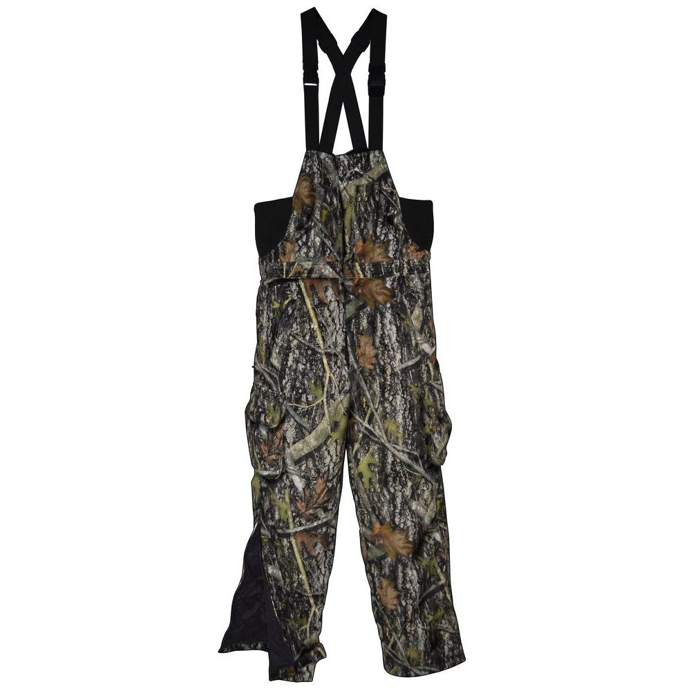 TrueTimber Camo Men's Large Camouflage Insulated Hunting Bib-TT091-L - The