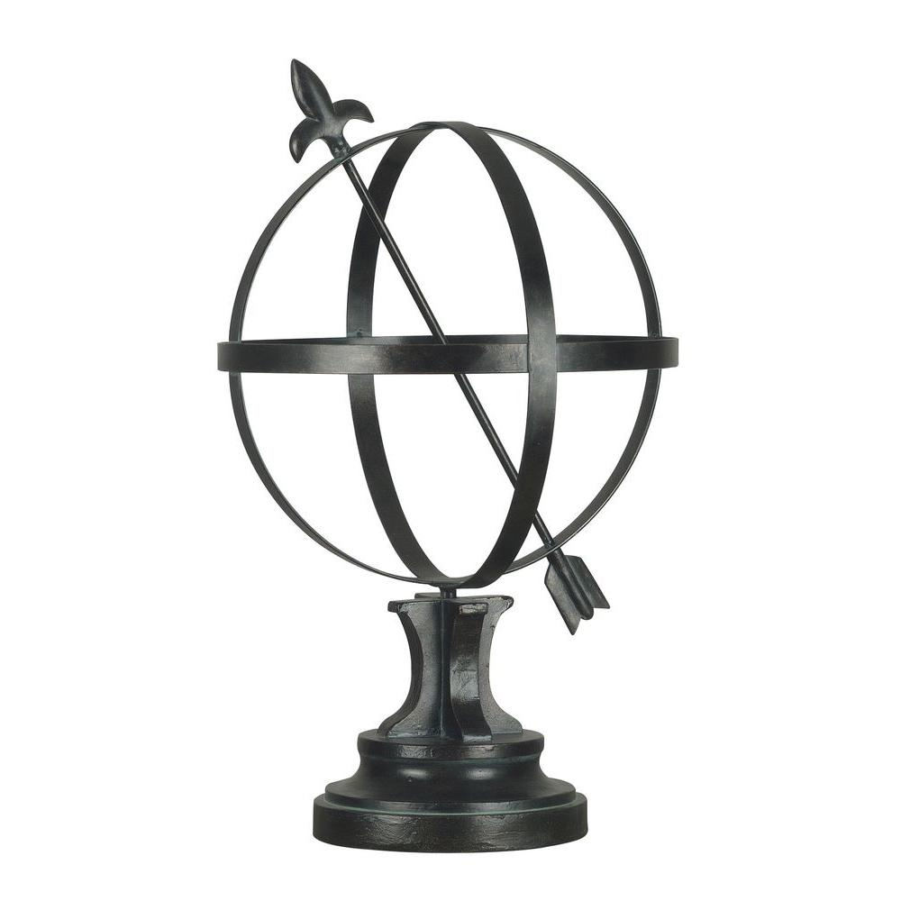 Kenroy Home 20 in. H Armillary Garden Ornament-DISCONTINUED