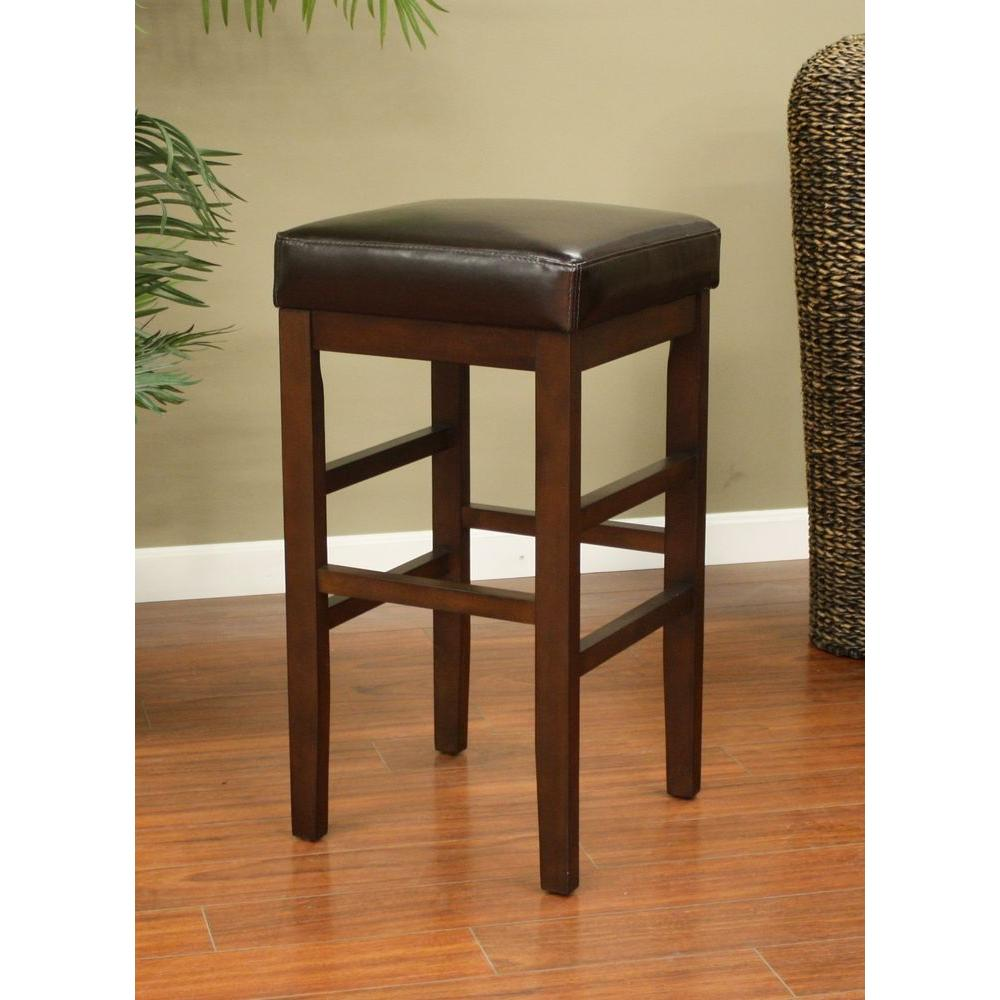 American Heritage Empire 30 in. Sierra Cushioned Bar Stool