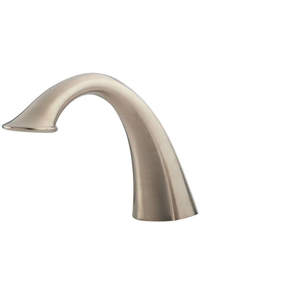 Pfister Catalina 2-Handle Deck-Mount Roman Tub Faucet Trim Kit in Brushed