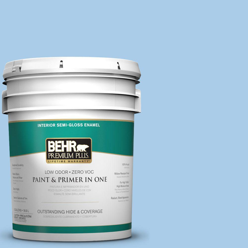 5-gal. #P520-2 French Porcelain Semi-Gloss Enamel Interior Paint