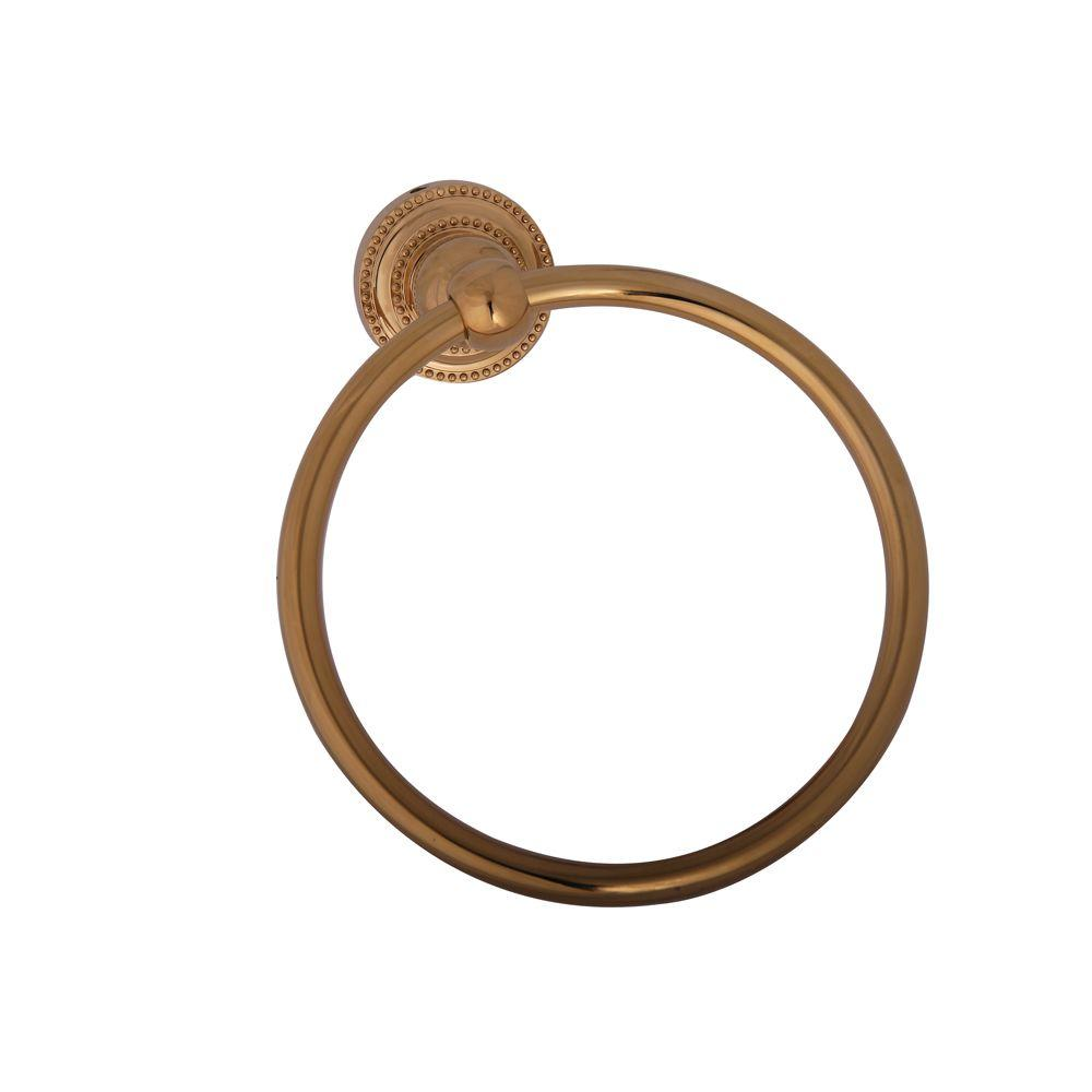 Barclay Products Nevelyn Towel Ring in Polished Brass