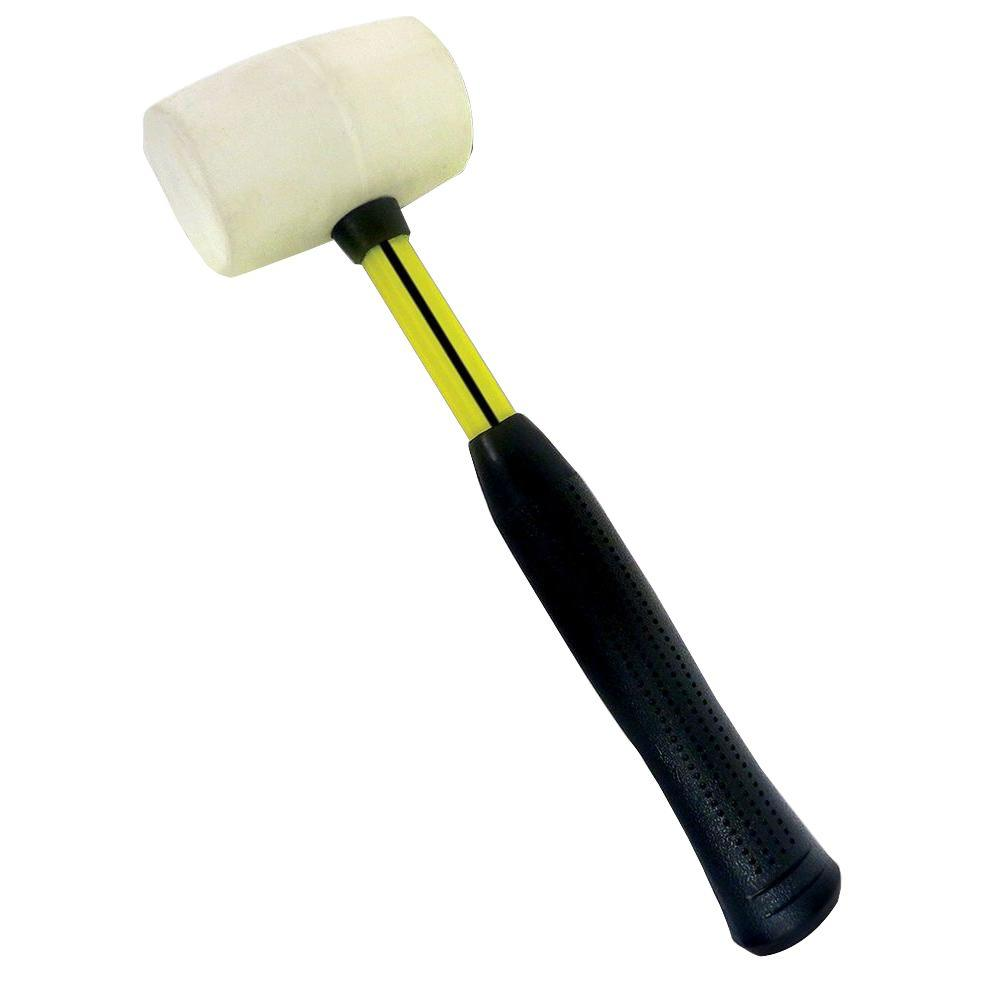 Nupla Premium Soft Rubber Mallet-13115 - The Home Depot