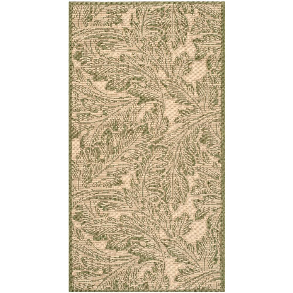 Courtyard Natural/Olive (Natural/Green) 2 ft. 7 in. x 5 ft. Indoor/Outdoor Area Rug Sale $30.45 SKU: 205199867 ID: CY2996-1E01-3 UPC: 683726836834 :