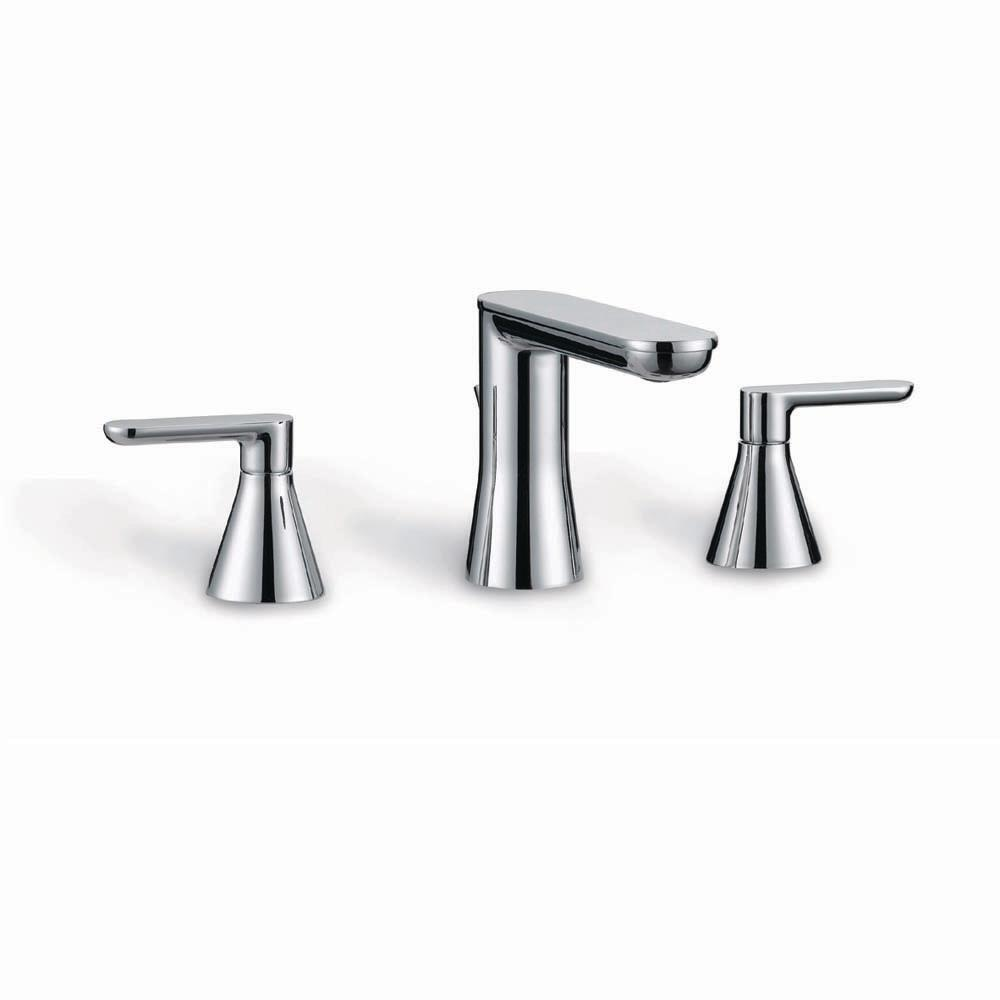 Chianti 8 in. Widespread 2-Handle Bathroom Faucet in Chrome