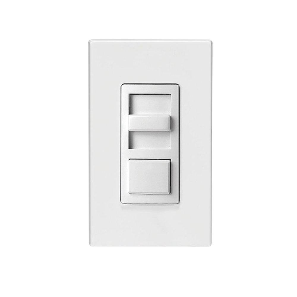 Leviton IllumaTech Universal 150-Watt LED and CFL/600-Watt Incandescent Dimmer,