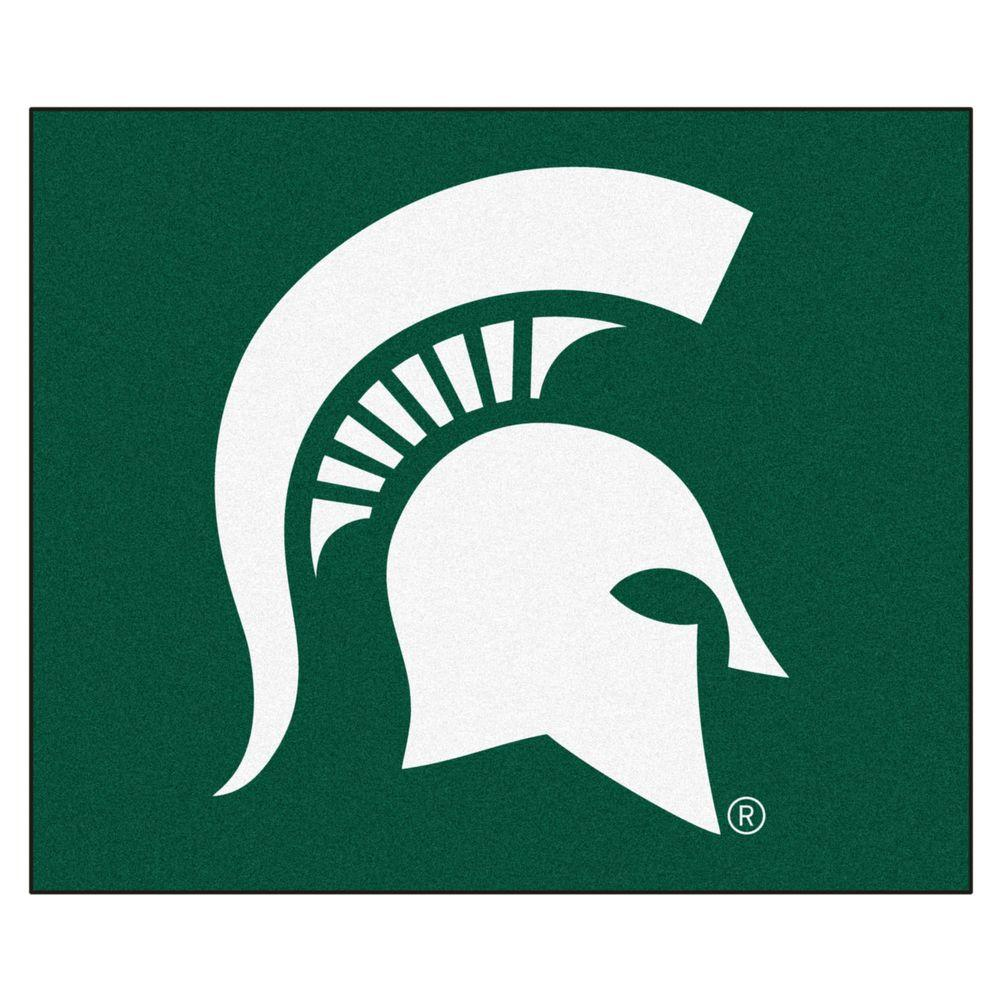 FANMATS Michigan State University 5 ft. x 6 ft. Tailgater Rug-4528
