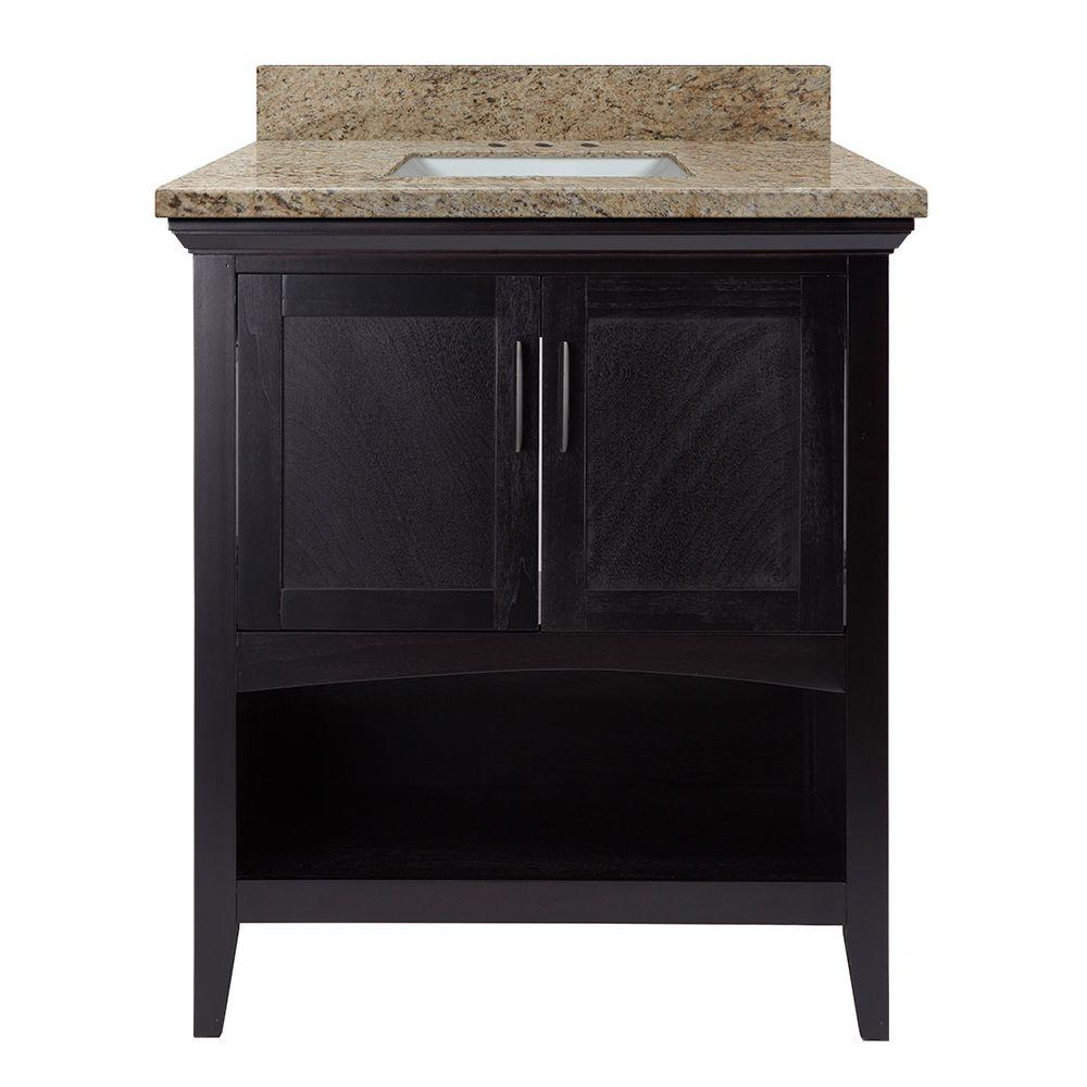 Home decorators collection brattleby 31 in w x 22 in d for Home decorators vanity top