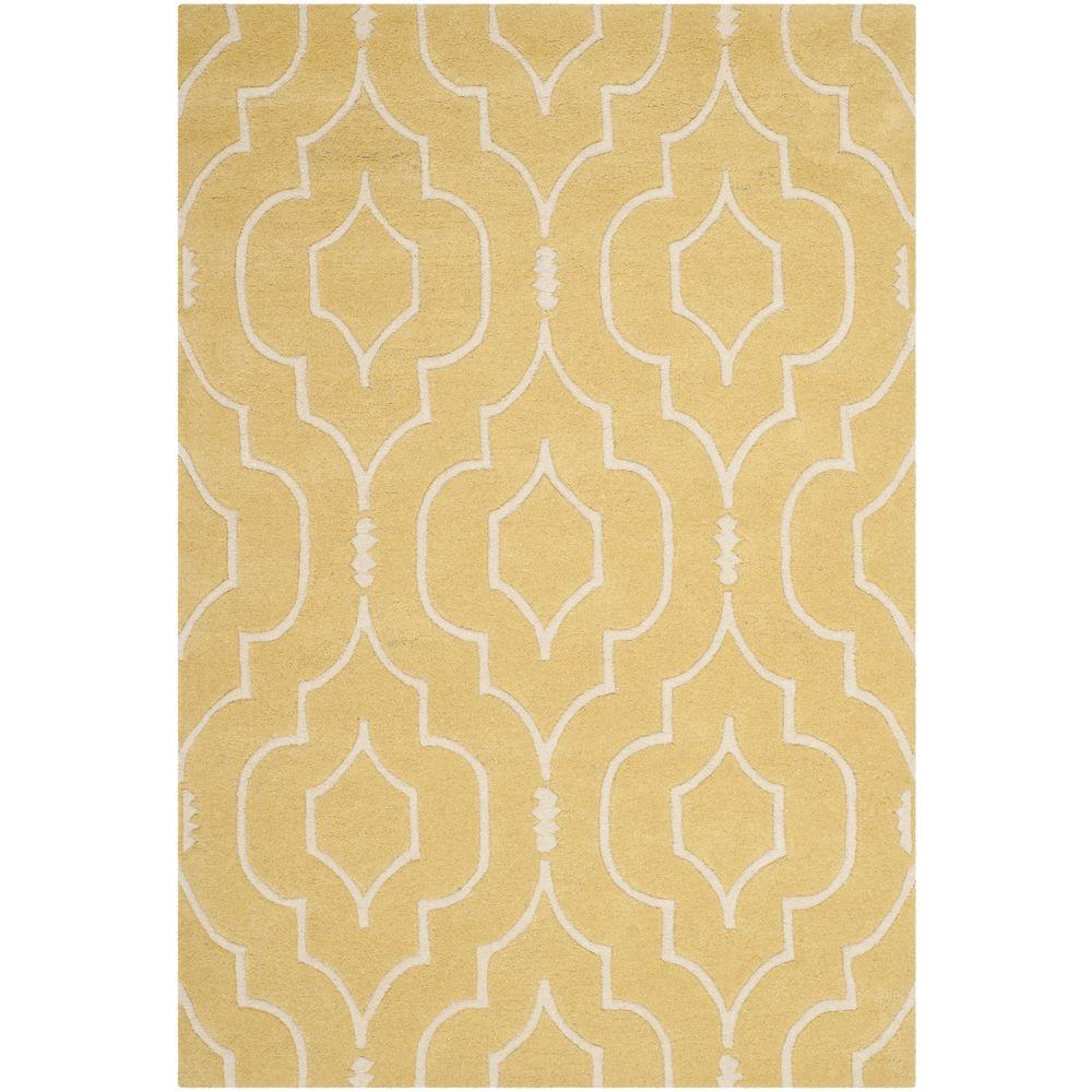 Chatham Light Gold/Ivory 3 ft. x 5 ft. Area Rug