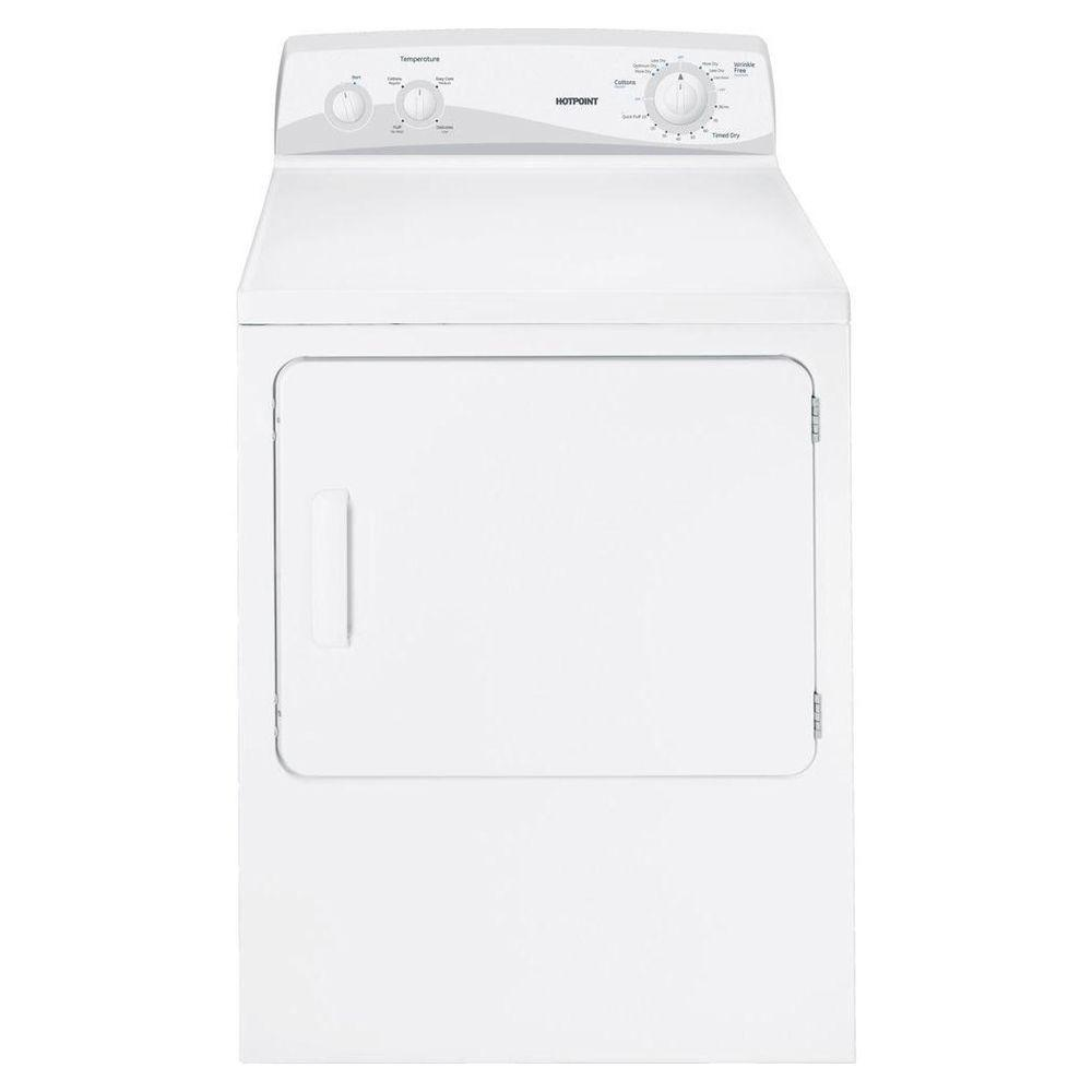 Hotpoint 6.8 cu. ft. Gas Dryer in White