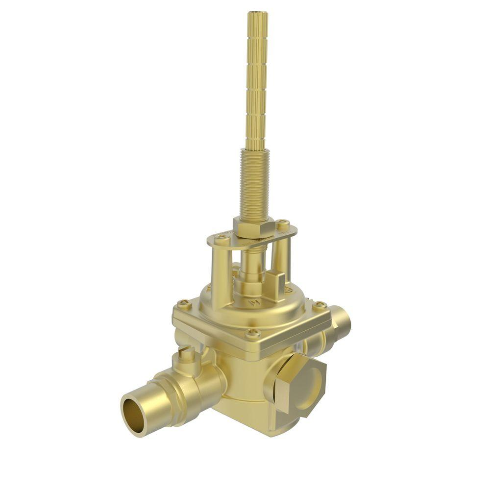 Newport 1/2 in. Solid Brass Universal NPT Balance Pressure Shower Valve-1-594