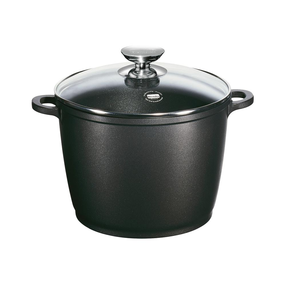 Vario Click 11.5 in./11 Qt. Induction Round Stock Pot with Lid