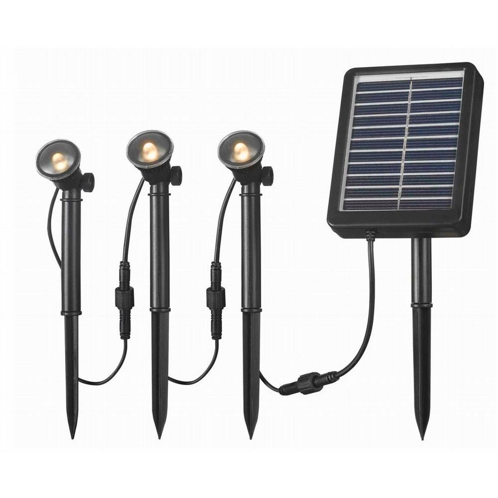 3-LED Light String for Solar Deck, Dock and Path Light