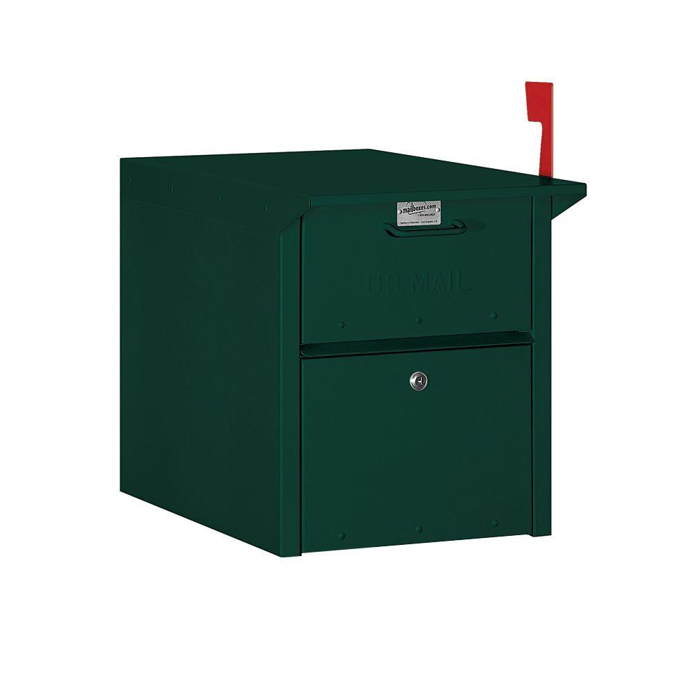 Salsbury Industries 4300 Series Mail Chest in Green