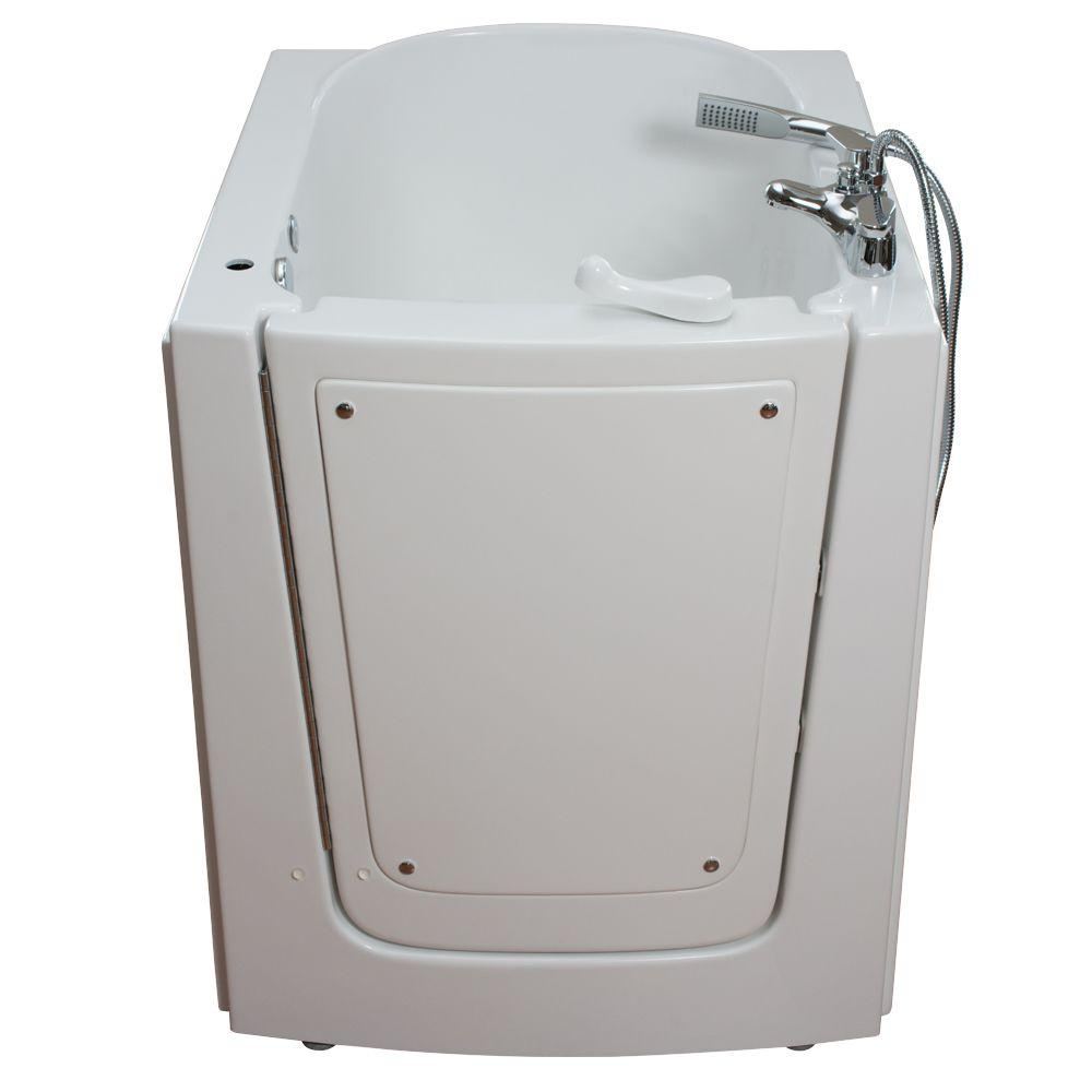 Front Entry 2.75 ft. x 38 in. Walk-In Air Massage Bathtub