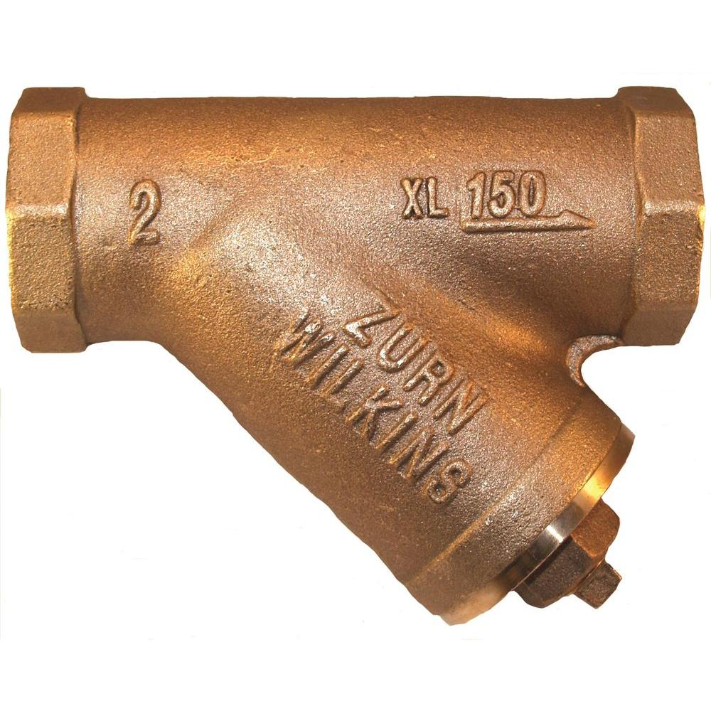 2 in. Lead-Free Cast Bronze Wye Type Strainer