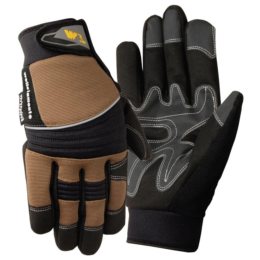 Wells Lamont Synthetic Leather Glove, Large-DISCONTINUED